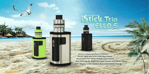Eleaf iStick Tria with ELLO S