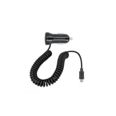 Forever car charger Micro USB 2,1A M-01 black