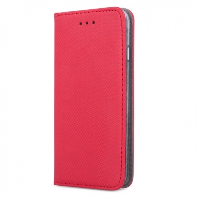 Smart Magnet case for Samsung Galaxy J3 2016 Red