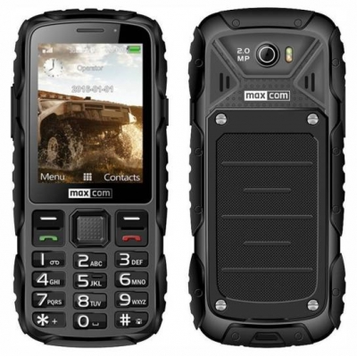 Maxcom MM920 Water-Dust Proof - Μαύρο
