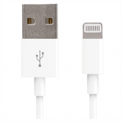 Forever for iPhone 8-PIN cable white 1m 1A