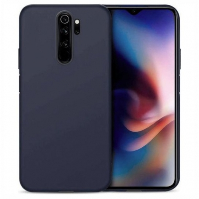 Matt TPU case for Xiaomi Redmi Note 8 Pro nany blue