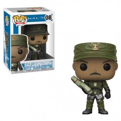 Pop! Games: Halo - SGT Johnson 08