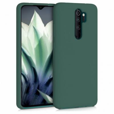 Matt TPU case for Xiaomi Redmi Note 8 Pro forest green