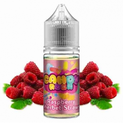Candy Rush Raspberry Sherbet Straws 60ml Flavorshots