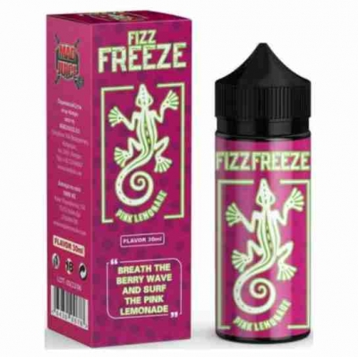 Mad Juice Fizz Freeze Pink Lemonade 120ml Flavorshots
