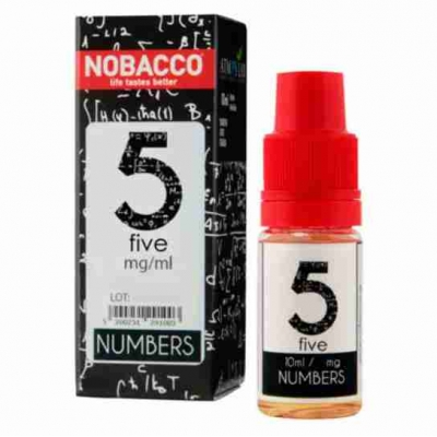 Nobacco Numbers - Five 10ml