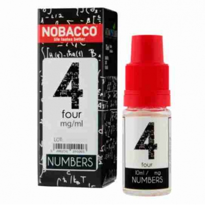 Nobacco Numbers - Four 10ml
