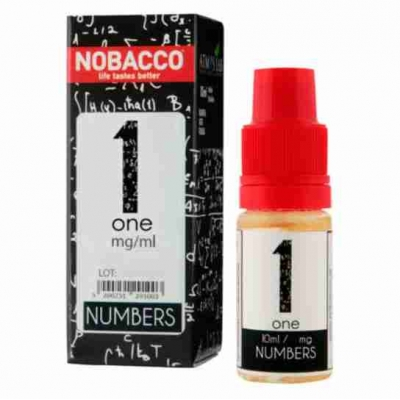 Nobacco Numbers - One 10ml