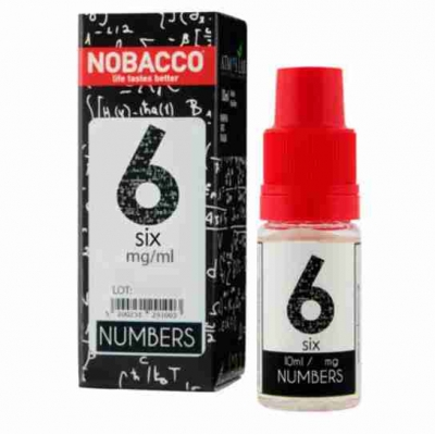 Nobacco Numbers - Six 10ml