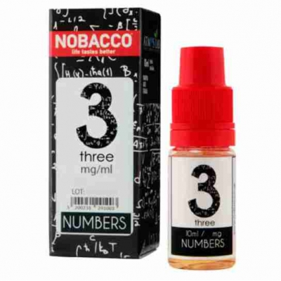 Nobacco Numbers - Three 10ml