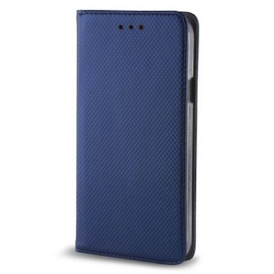 Smart Magnet case for Samsung Galaxy A21S navy blue