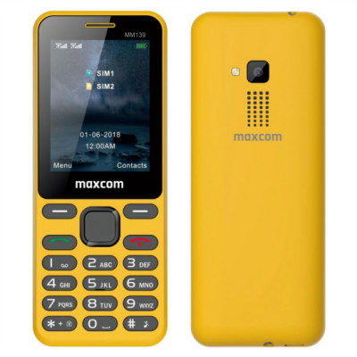 Maxcom MM139 Yellow