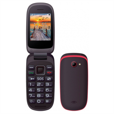 Maxcom MM818 (Dual Sim) Black-Red