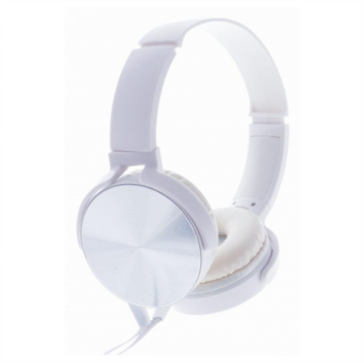 Rebeltec wired headphones Magico White