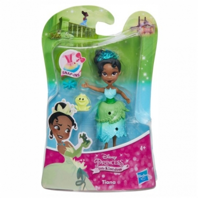 Hasbro Disney Princess Μικρή Κούκλα Little Kingdom Snap-ins - Tiana (E0209)