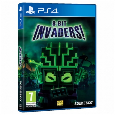 PS4 8-Bit Invaders