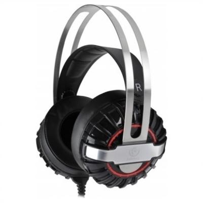 Rebeltec Typhoon gaming Headphone Black-Silver