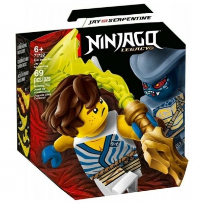 LEGO NINJAGO: Epic Battle Set - Jay vs. Serpentine (71732)LEGO NINJAGO: Epic Battle Set - Jay vs. Serpentine (71732)