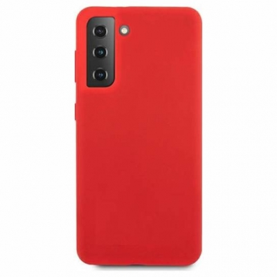 Silicon case for Samsung Galaxy S21 Red
