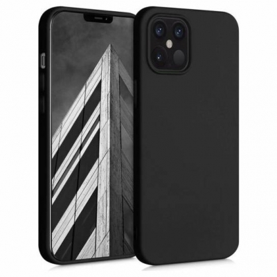 Silicon case for iPhone 12 Pro Max black