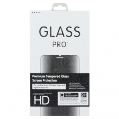Tempered Glass 9H White-Box iPhone 12 / 12 Pro