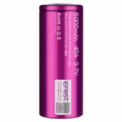Efest Battery 26650 5000mAh 40A