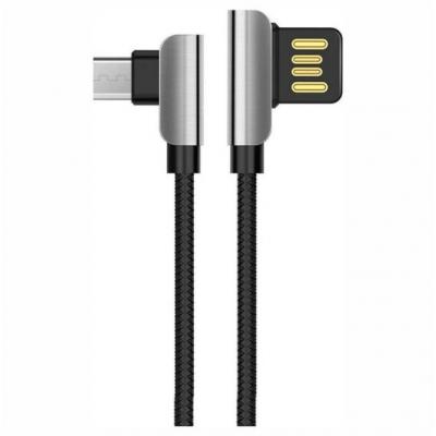 Hoco Braided USB 2.0 to micro USB Cable Μαύρο 1.2m (U42)