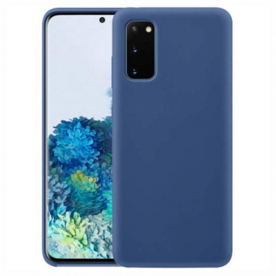 Silicon case for Samsung Galaxy S21 Plus Dark Blue