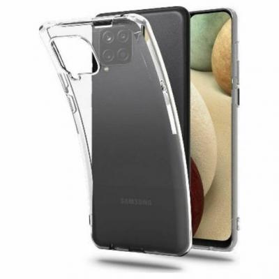 Slim case TPU 1mm for Samsung Galaxy A12 Διάφανο