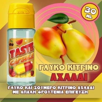 Taste Capsule Γλυκό Κίτρινο Αχλάδι 30ml Flavorshots