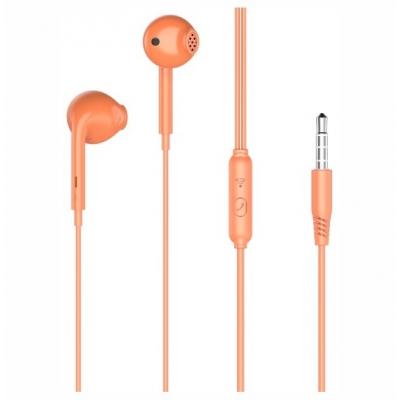 XO Wired earphones EP28 jack 3,5mm Orange