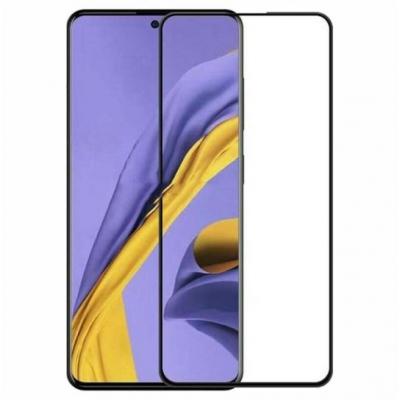 Full Glue Tempered Glass 5D for Samsung Galaxy S10 Lite black frame