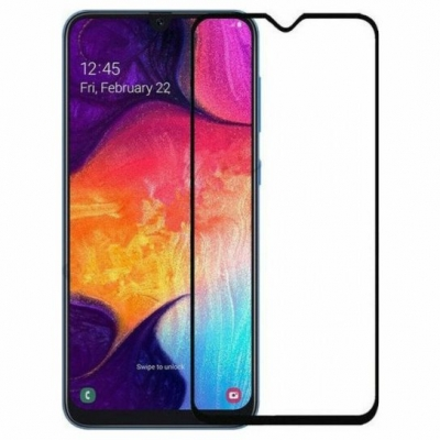 ObaStyle Tempered Glass 3D for Samsung Galaxy A50/A30/A20  black frame