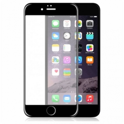 ObaStyle Tempered Glass 3D for iPhone 6 / 6S Black frame