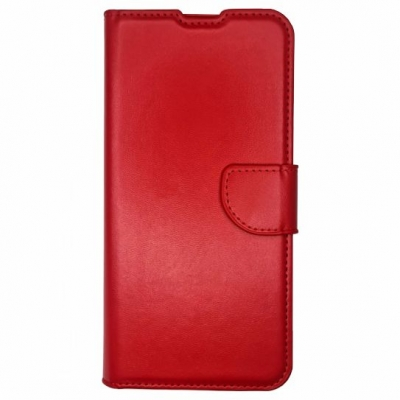 Smart Wallet case for Samsung Galaxy A12 Red